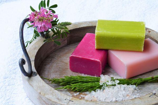 3 soap blocks