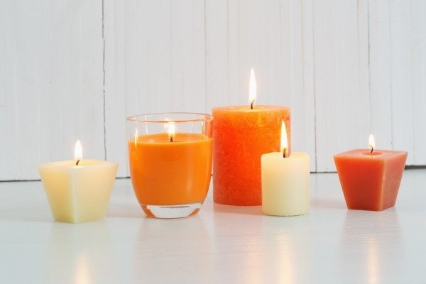 colorful wax candles - a classic wax gift