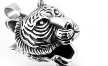stainless steel tiger head