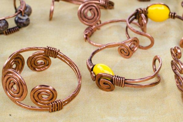 handmade copper bracelets