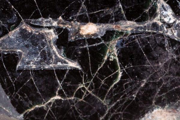 black spinel close-up
